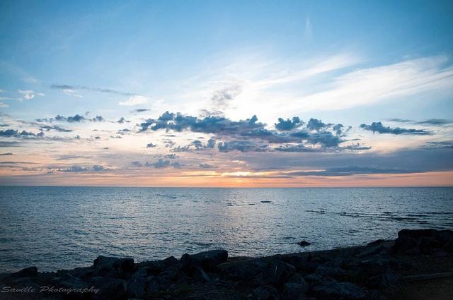 Arctic Ocean in Tuktoyaktuk, NT