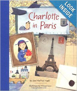 Love book for little nomads: Charlotte in Paris