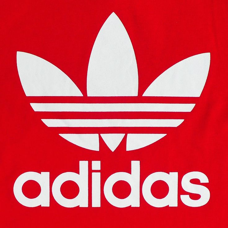 Red Adidas Logo Hd!