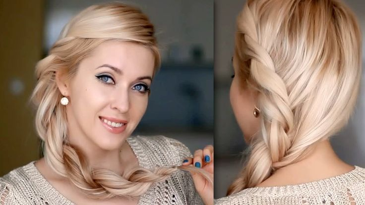 Rihanna inspired hairstyle: twisted rope braid tutorial