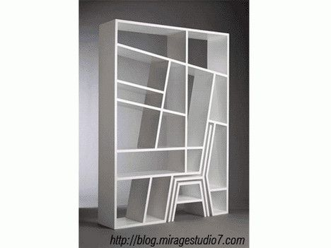 12 best minimalist bookshelf images on Pinterest Book shelves
