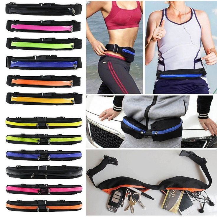 Sports Fanny Pack Belly Waist Bum Bag Fitness Running Jogging Cycling Belt Pouch #Unbranded #FannyWaistPack