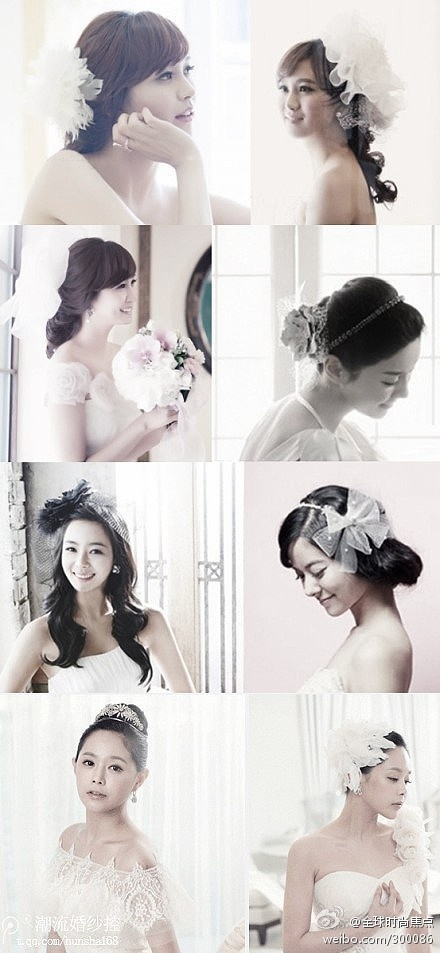 Enjoyable 1000 Images About Bridal Hairstyle On Pinterest Short Hairstyles Gunalazisus