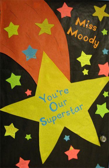 Ideas for classroom doors during teacher appreciation week