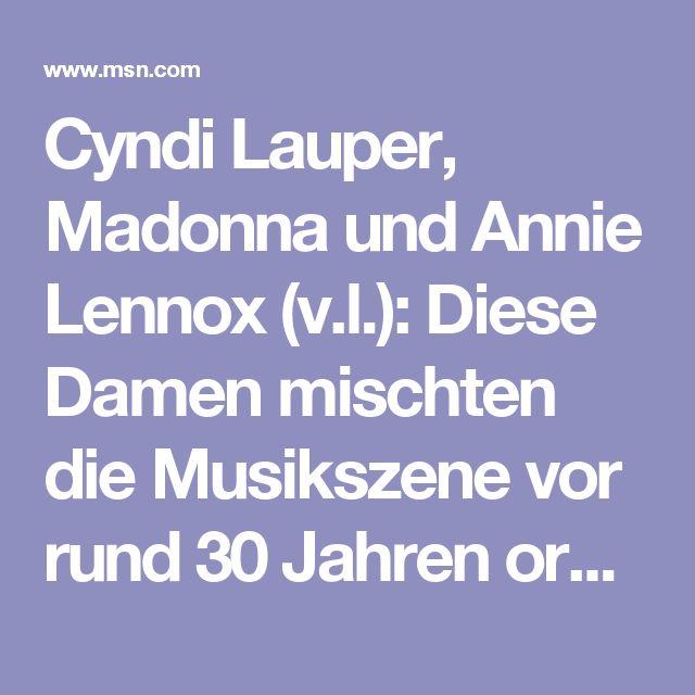 Cyndi Lauper, Madonna und Annie Lennox (v.l.): Diese Damen mischten die Musikszene vor rund 30 Jahren ordentlich auf. Mit ihren Frisuren, knalligen Outfits und ihrem Auftritt wurden sie Vorbild für viele weibliche Fans. Jede dieser Sängerinnen steht für die Musik-Ära der 80er Jahre und noch heute werden ihre Songs auf jeder Party gespielt. Einige haben mit nur einem Lied musikalisch alles erreicht, was zu erreichen ist. Einige sind inzwischen von der Bildfläche verschwunden und andere…