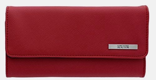 """102522-755 Kenneth Cole Reaction Trifold Clutch """"Tri-Ed & True"""" (SAFFIANO SUNSET)  BUY NOW     $19.92    Faux Leather 1 inner zipper pocket , 4 open inner pockets , 14 credit card slots 2 ID windows , 1 outside zipper pocket on bac ..  http://www.welovefashion.top/2017/03/09/102522-755-kenneth-cole-reaction-trifold-clutch-tri-ed-true-saffiano-sunset/"""