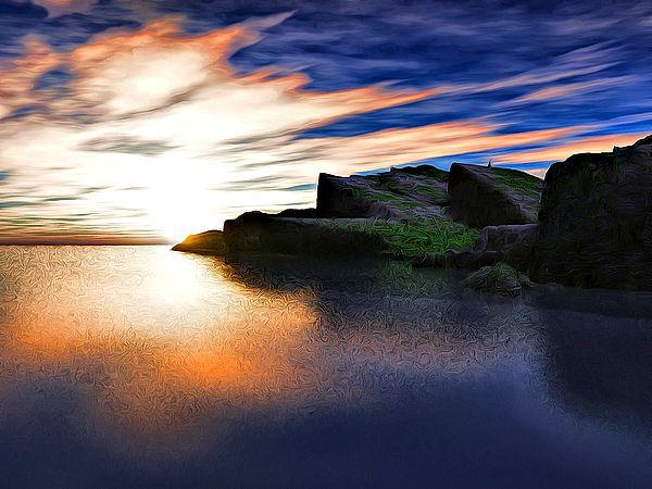 "Bildwerk ""Beautiful Coast"""