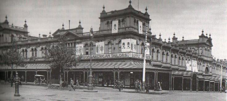 Eastern Market (demolished) - Bourke Street, MELBOURNE