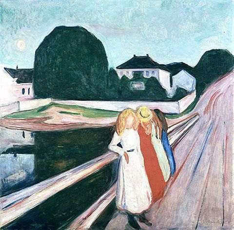 Edvard Munch: Girls on a Pier Wallraf Richarz Museum, Cologne