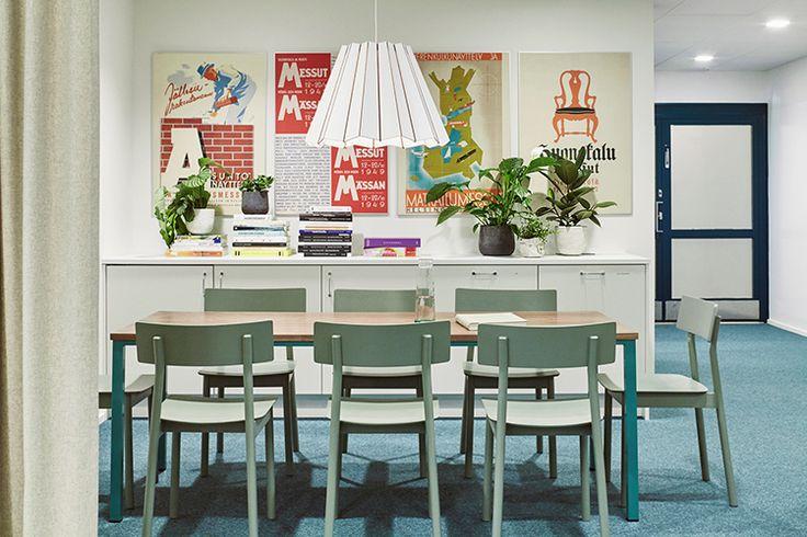 office design Suomen Messut | Sisustusarkkitehdit Fyra