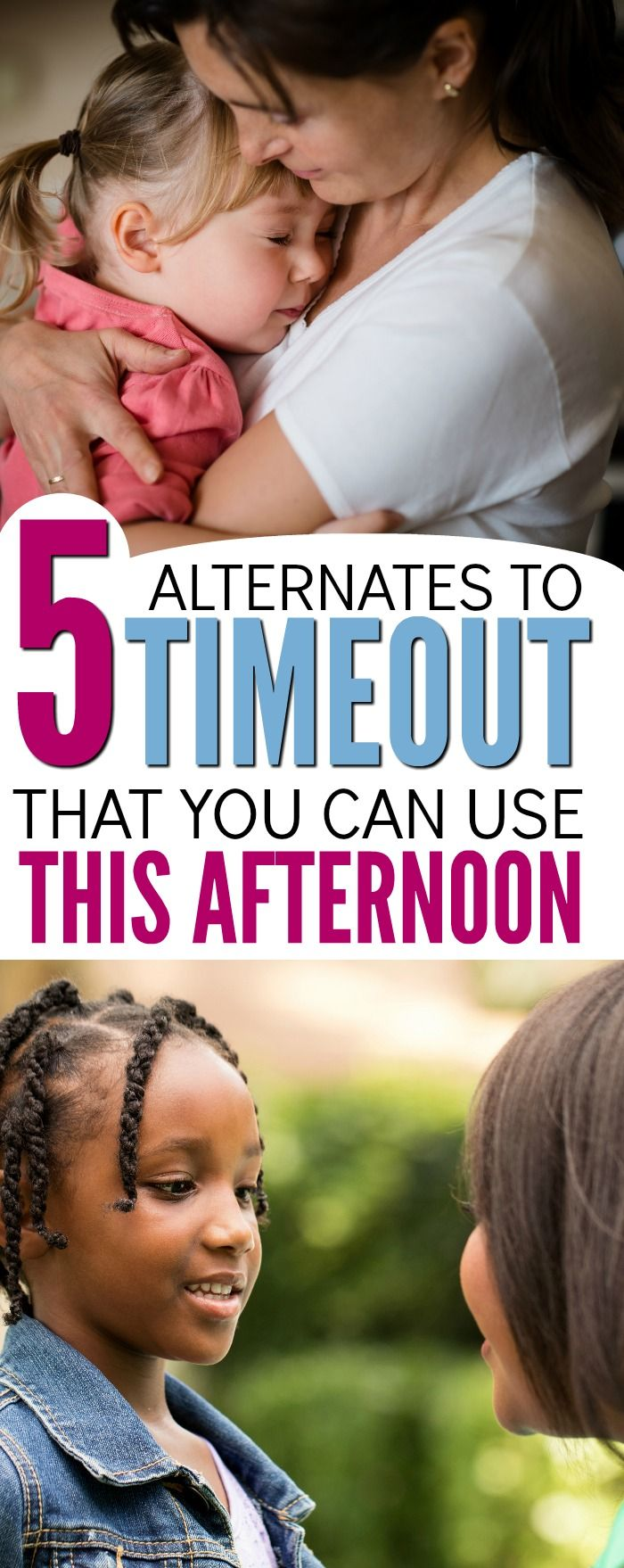 You've heard time outs don't work, but what positive parenting tactic can you use instead? These 5 simple child discipline strategies are way more effective than timeouts, spanking or any other punishment. Perfect advice for moms who are frustrated by their child's behavior. via @noguiltmom