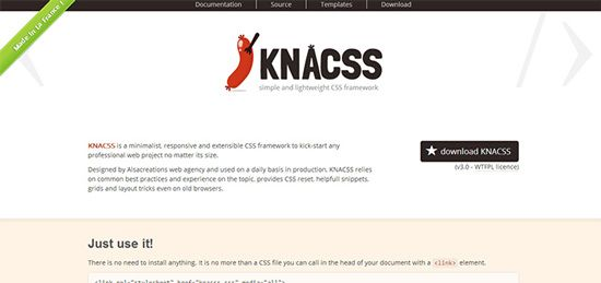 KNACSS