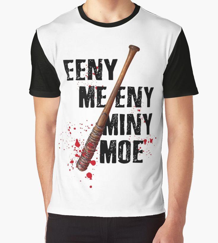 EENY MEENY MINY MOE Banned Primark Design by Cudge Art  #twd #walkingdead #negan #lucille #thewalkingdead #carl #rickgrimes #saviors #alexandria #redbubble