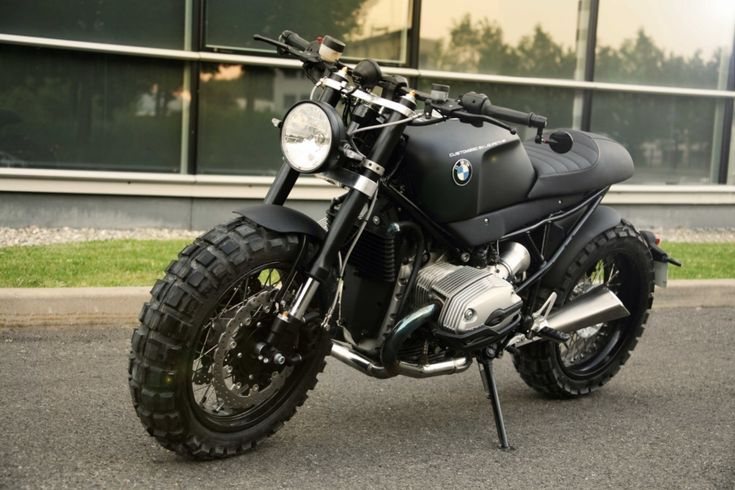 This BMW R1200 is a custom build by the guys over at Lazareth. If you are familiar with Lazareth they do some pretty futuristic looking builds. On this one they kept it mild. Everything on this baby is custom except the engine and the paralever suspension on the rear.