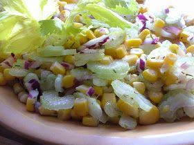 Smak Zdrowia: Sałatka z selerem naciowym