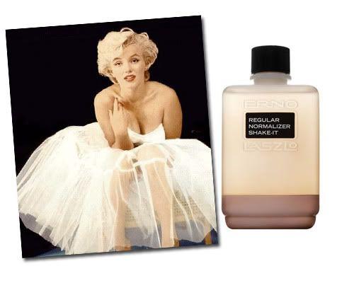 Marilyn: always the Erno Laszlo fan!