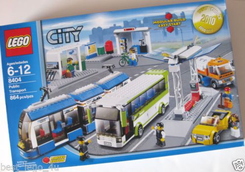 Lego City 8404 Public Transport Limited Edition New SEALED Set 5702014518698 | eBay
