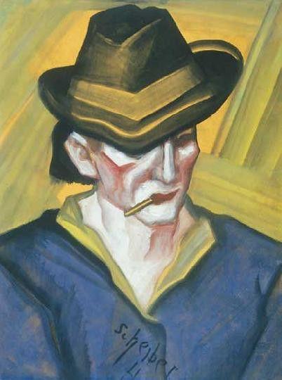 Cigarettázó Férfi