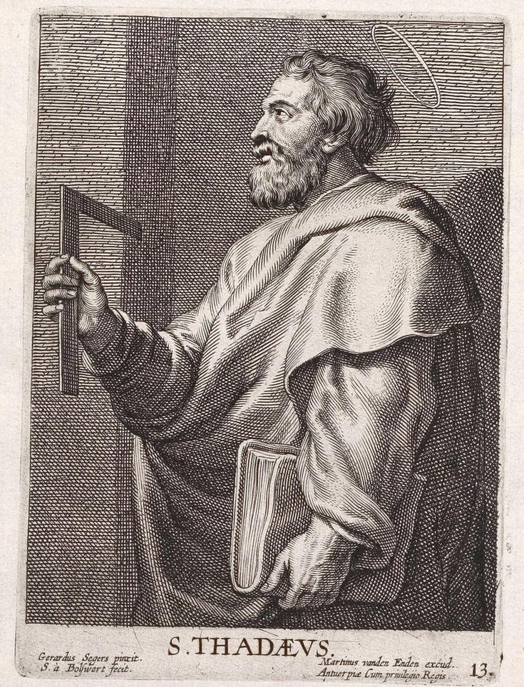 Arolsen Klebeband 13 025 - Jude (apôtre) — Wikipédia
