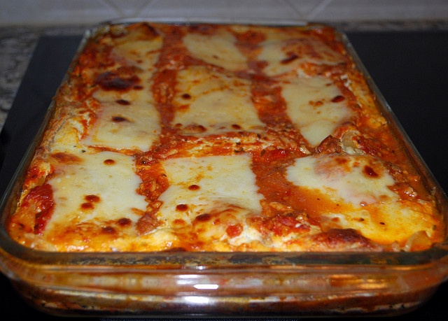 Four Cheese Lasagna by VintageVictuals | Recipes to Try | Pinterest