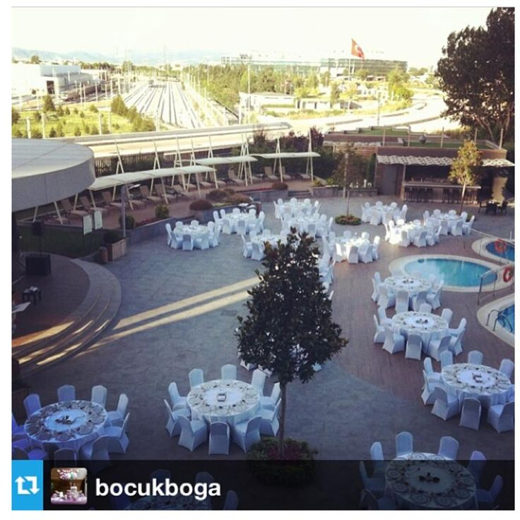 Another big iftar dinner organization by our pool area