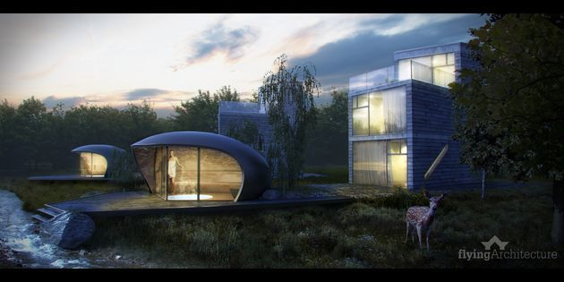 CGarchitect - Professional 3D Architectural Visualization User Community | Wellness units in Slovakia