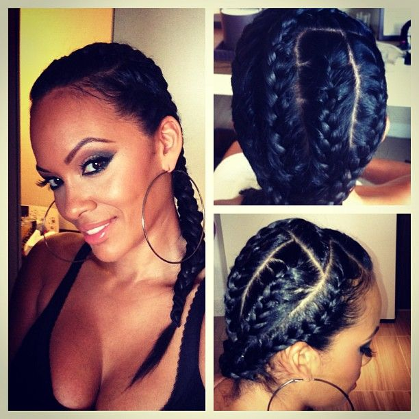 Evelyn Lozada  tries a new look.