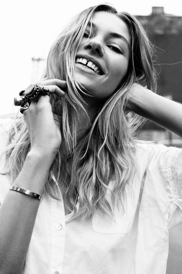 """""""A gap in your teeth is the sign of Venus - the goddess of love! Being gap-toothed was regarded as a sign of a strongly-sexed nature.  In some African tribes having a gap in your front teeth was a sign of wisdom and in France they call it """"les dents du bonheur"""" (teeth of happiness)"""