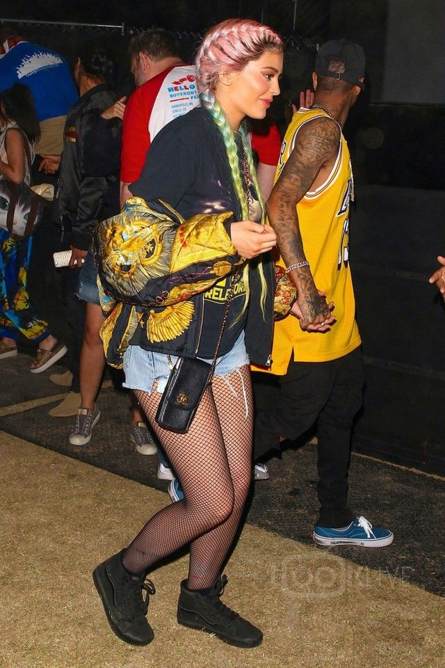 ebb586788da Kylie Jenner - Attending Coachella Valley Music and Arts Festival 2016 day  2 on