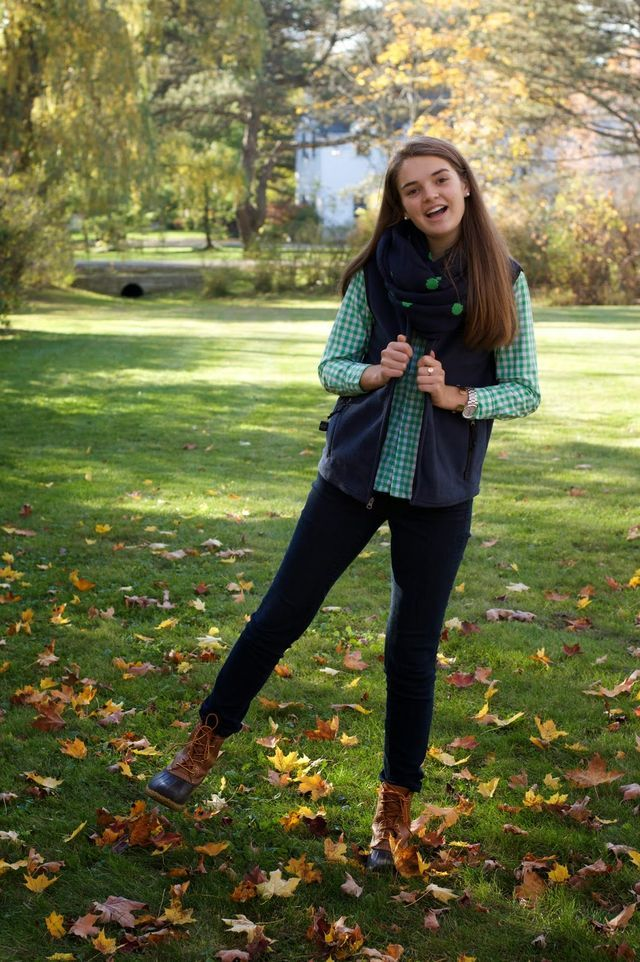 Preppy Fall Fashion