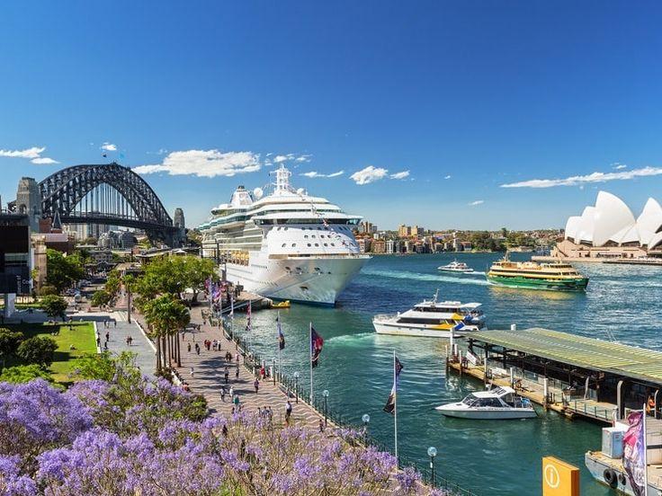 海を眺めながらゆったり過ごせるシドニー、一度行ってみたい。シドニー旅行の観光見所。