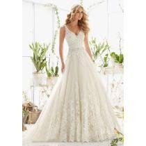 Vestido De Noiva Em Renda Sob Medida + Anagua Frete Grátis