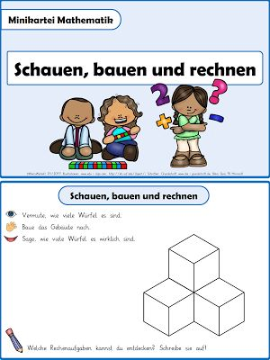 Lernbereiche verbinden - Geometrie und Arithmetik