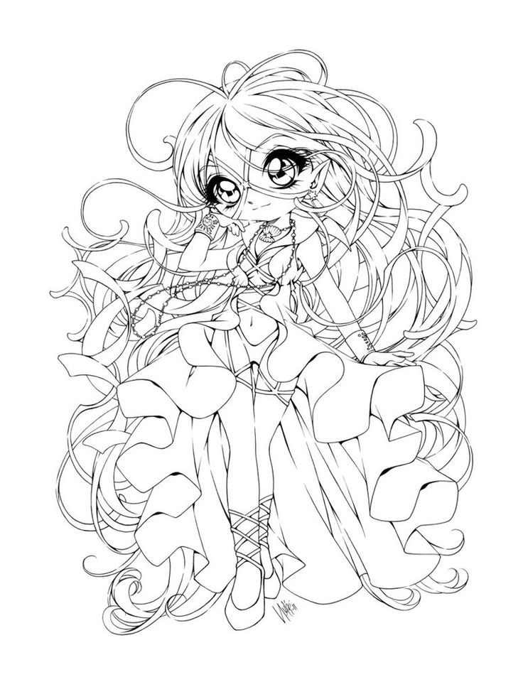 anime coloring pages deviantart outgoing - photo#13