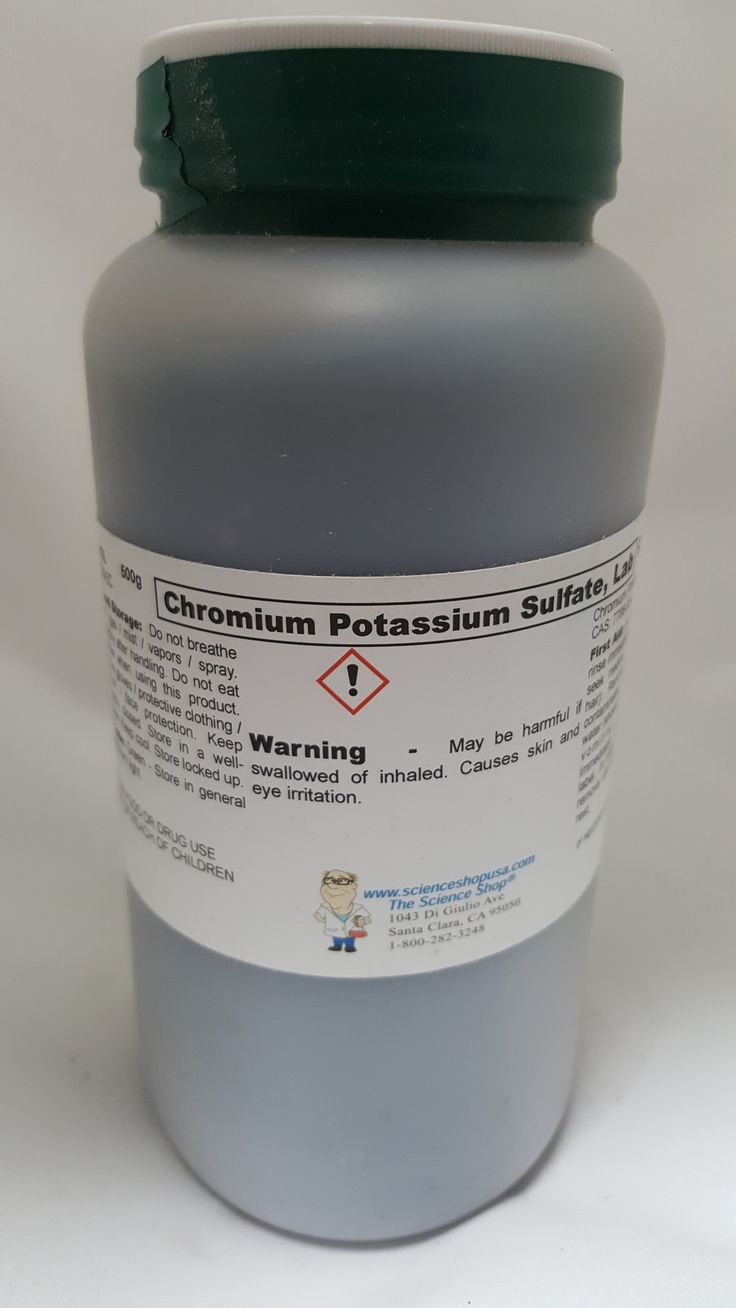 Chromium Potassium Sulfate 500g Lab Grade (Chrome Alum)