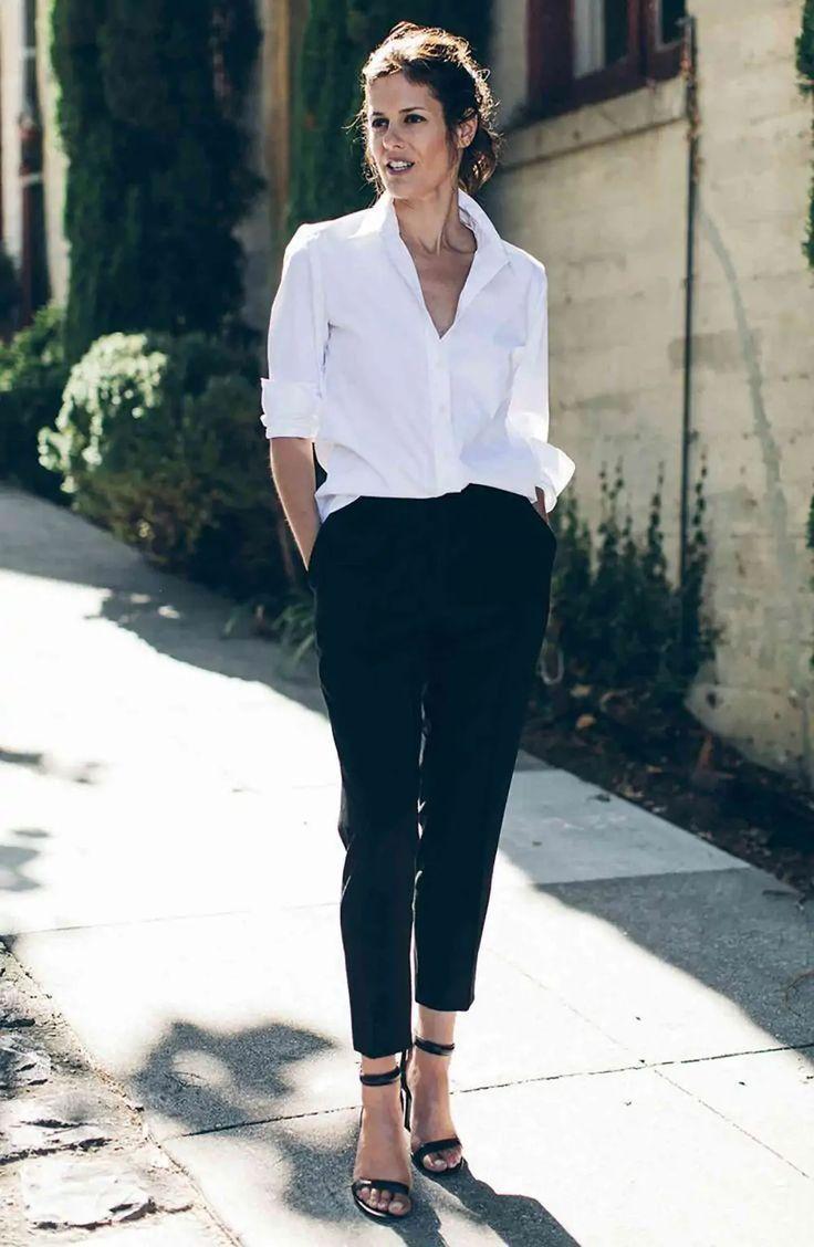 Pin en Camisas blancas