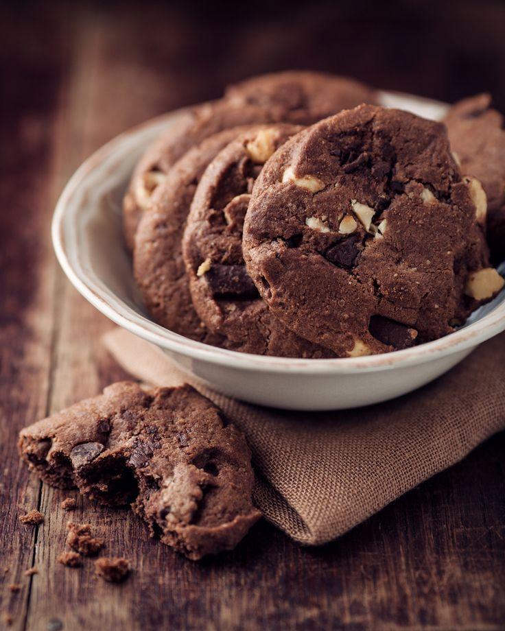 Čokoládové cookies bez tuku - Fitrecepty.info - Pojďte s námi zdravě jíst a být fit!