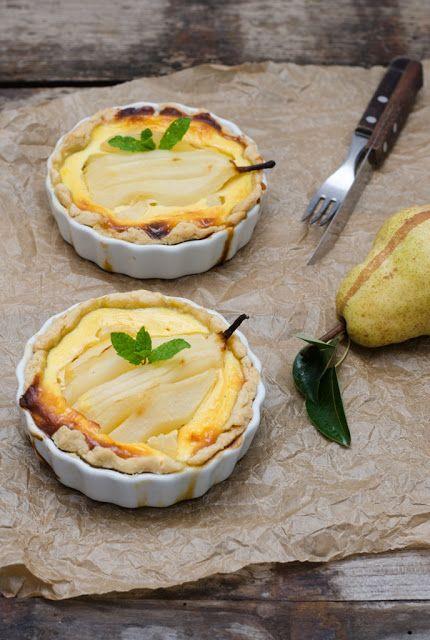 Tarta cu pere si branza dulce -Cooking with my soul