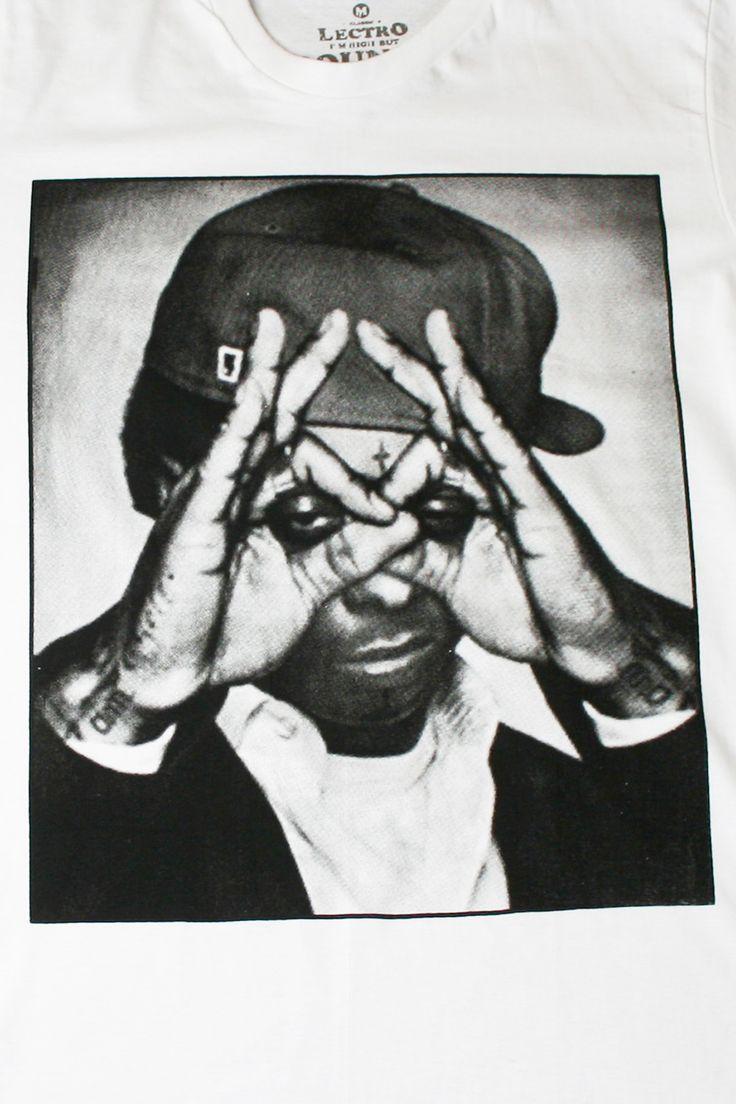 Jay z black t shirt white cross - T Shirt Wiz Khalifa Illuminati Lectro Eleven Paris Glasses Jay Z Lil Wayne