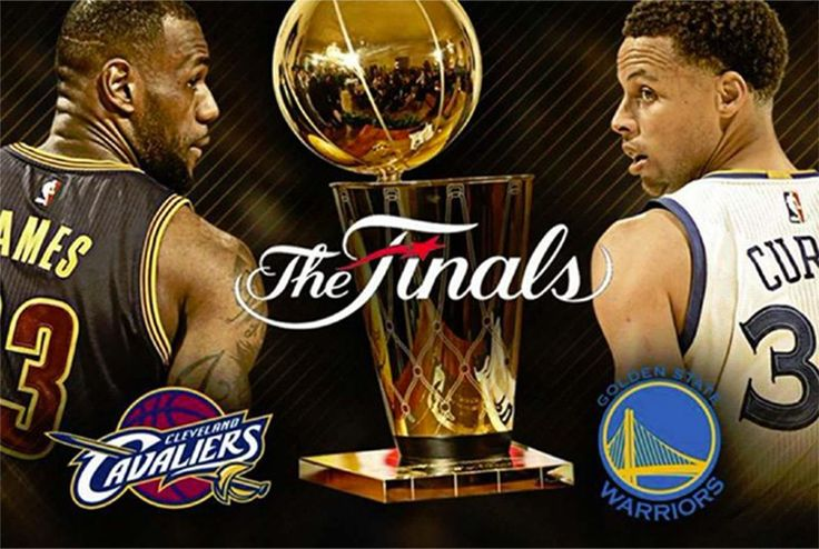 This is it, folks! It's time for the NBA Finals once again! And for the third straight year, we have the swashbuckling Cleveland Cavaliers of the East going against the sharpshooting Golden S…