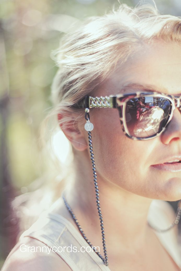 Camilla wearing Silver Fox from our third collection - www.grannycords.com.