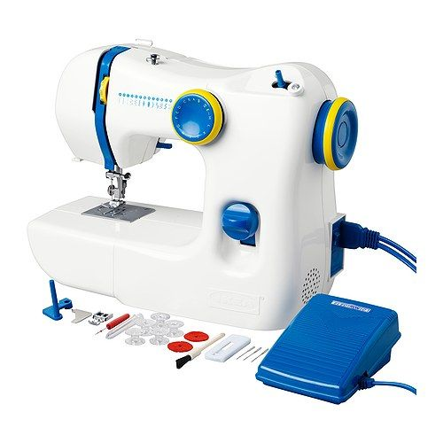 would like a sewing machine so I can try all these interest projects! Maybe this one would be a good start?