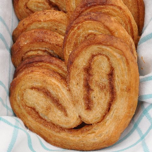 A simple Pastry recipe. Plamiers also known as Elephant Ears