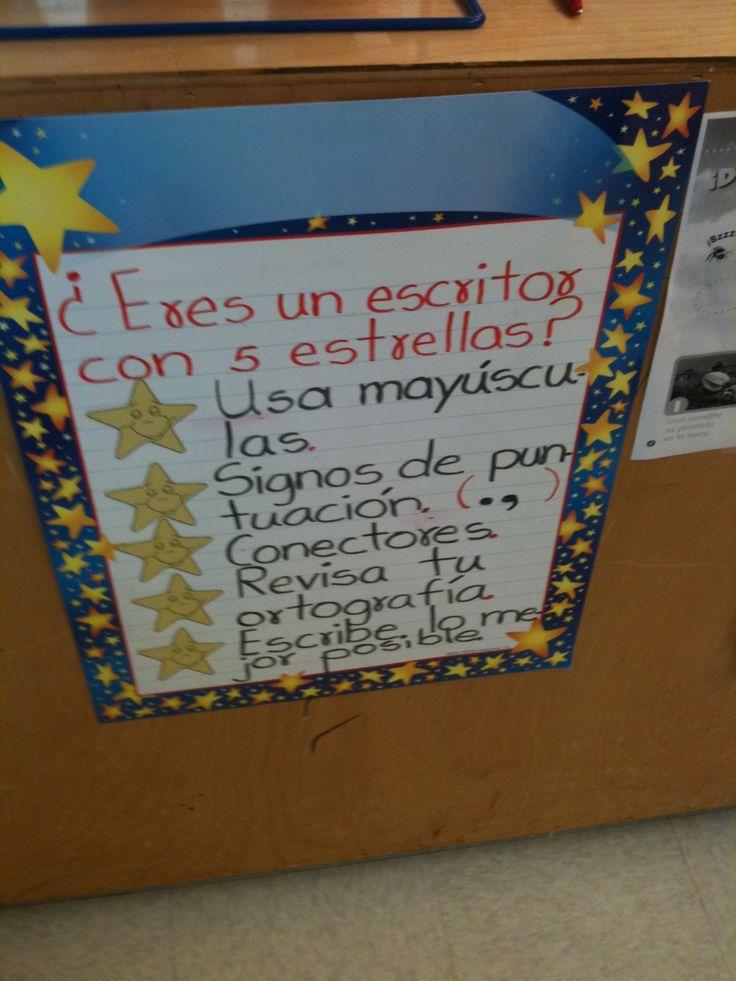 Escritor de 5 estrellas (5 star writing)  credit: LuzMery Suárez