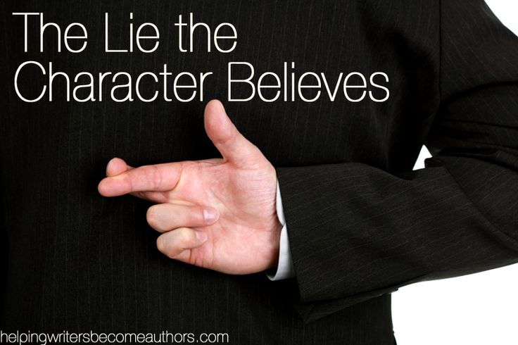 The Change Arc is all about the Lie Your Character Believes. His life may be horrible, or his life may seem pretty great. But, festering under the surface, is the Lie.
