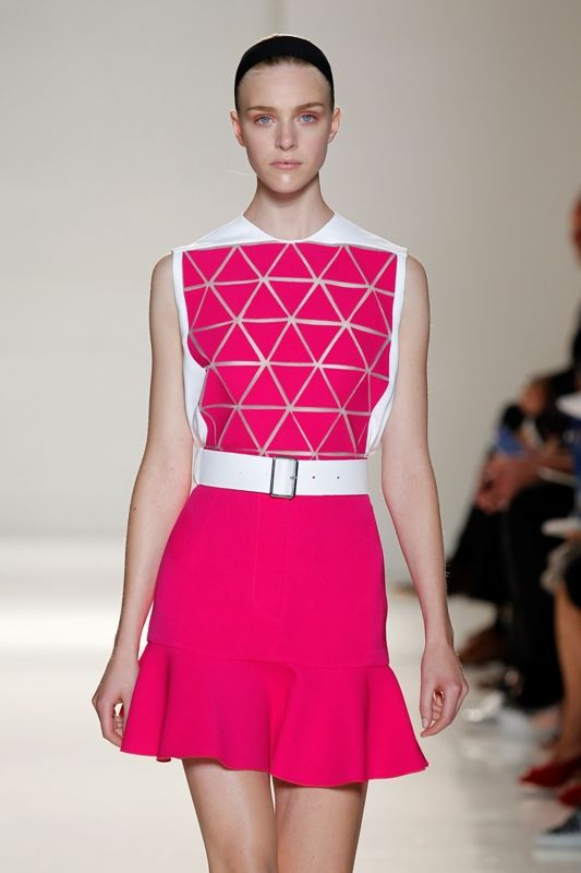 NY Fashion Week: Victoria Beckham Spring 2014