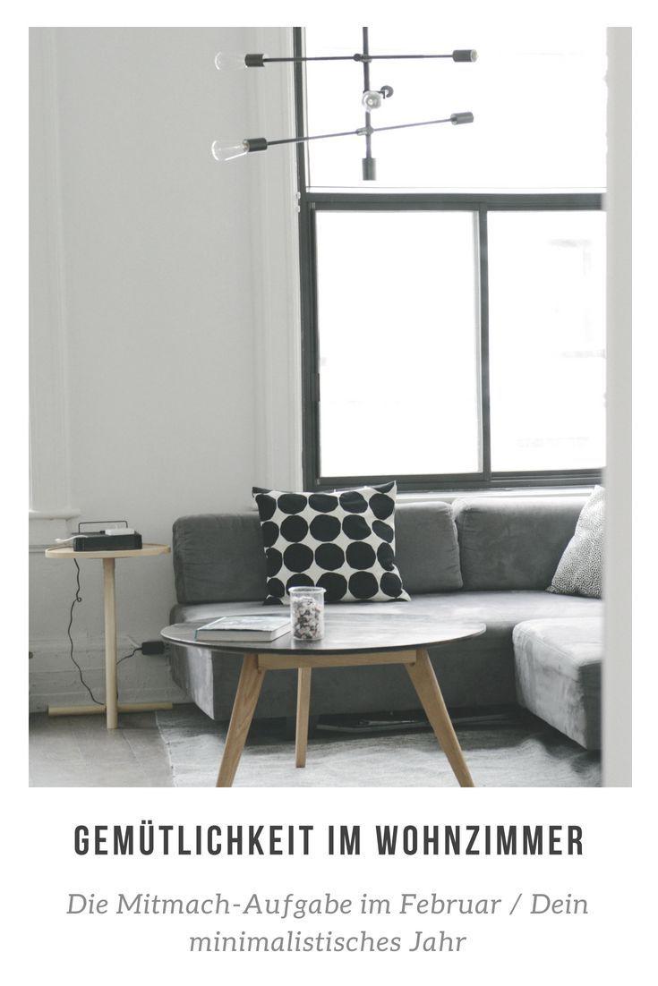 Dein minimalistisches Jahr im Februar: Minimalistische