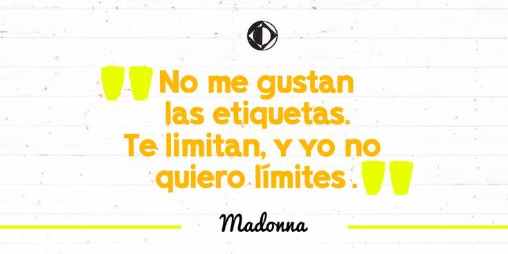 Madonna sí resiste al archivo . #CreativoDixit
