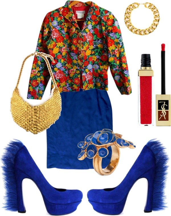 """all YSL"" by artofimage on Polyvore"