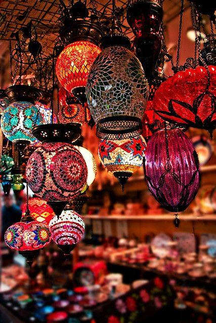 Morocco: Decor, Lamps, Lights, Idea, Color, Dream, Lanterns, Room, Moroccan Lamp